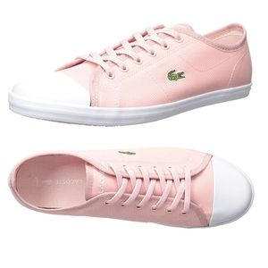 NWT Pink Lacoste shoes